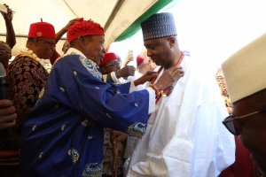 Saraki Conferred With Chieftaincy Title In Imo State (Photos)