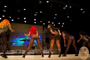 Emma Nyra Flashes Her Undies As She Performs On Stage (Photo)
