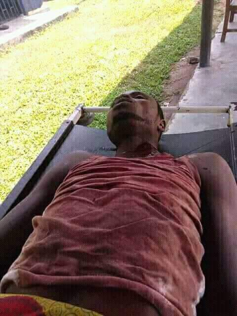, Young man stabbed to death in a hotel (Graphic Photos), Effiezy - Top Nigerian News & Entertainment Website
