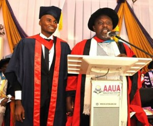 Rochas Okorocha Gives AAUA Best Graduating Student N500,000 (Photos)