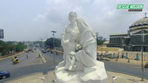 Governor Rochas Okorocha Erects Another Statue In Imo State. (Photos)