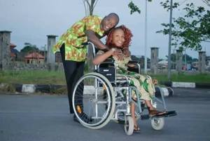 Physically challenged chorister and her fiance release beautiful pre-wedding pics