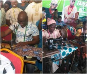 Governor Fayose Employs 200 Tailors To Sew Christmas Clothes For Ekiti Children (Photos)