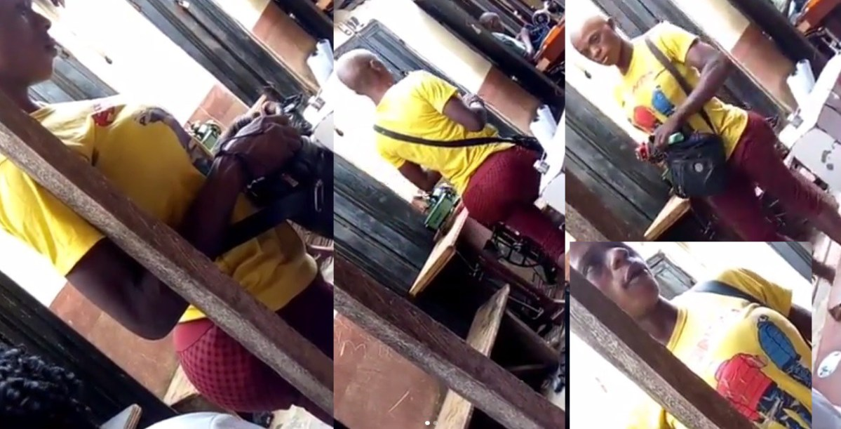 Nigerian Man With Big Ass And Boobs Spotted In Ibadan (Photos & Video)