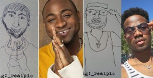 PHOTONEWS: Check out caricature drawing of our celebrities…. ( Don't laugh alone)