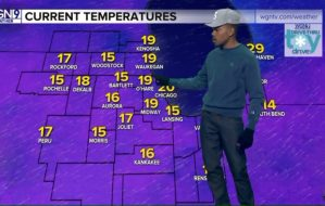 US rapper, Chance delivers weather forecast on live TV (Video)