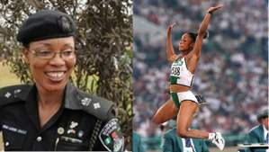 Nigeria's Gold Medalist Sprinter, Chioma Ajunwa Becomes Asst. Commissioner Of Police (Photos)