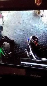SHOCKING: Watch how a man risked his life to save two sisters from getting crushed by a car (Video)