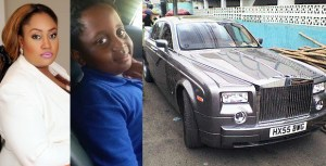 Parents criticize Igbinedion's daughter for picking her son in a Rolls Royce at school