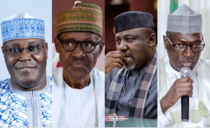 "BREAKING: Atiku wins Buhari, Rochas in online ""Happiness Poll"" in which over 7000 people voted (Photo)"