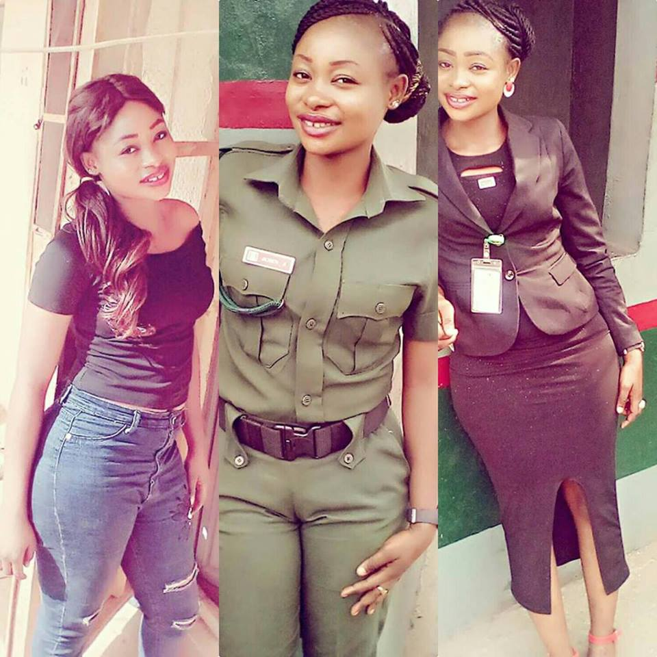 See This Slay Mama and Female Soldier In The Nigerian Army Who Was Promoted Today (Photos)