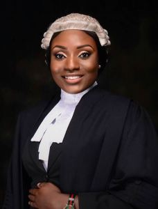 Nigerian lady bags double first class honors (Photos)