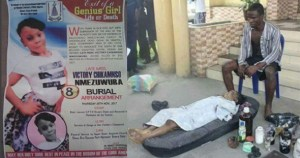Obituary Poster Of 8-yr-old Chikamso Kidnapped, Defiled, Killed & Private Parts Removed By Uniport Student