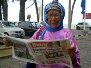 99-yr-old grandmother to run for parliament in Malaysia (Photo)