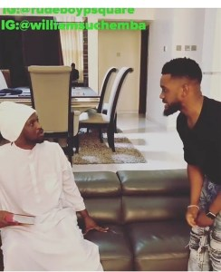 Check out this comedy video between Paul Okoye and Wiliams Uchemba (Video)