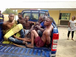 Cult Members Arrested By 2am In Lagos During Their Meeting (Photos)