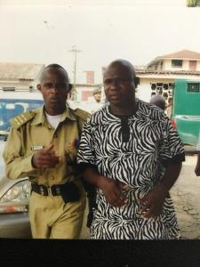 Man Who Was Arrested For Criticizing Goodluck Jonathan Celebrates His Release From Prison (Photo)