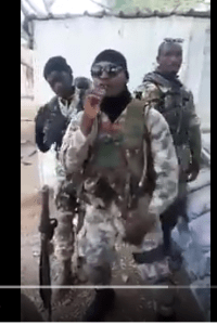 Nigerian Soldier In Sambisa Forest Drops A Rap Single (Video)