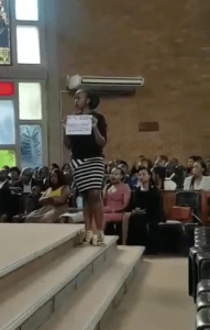 2 Women Confront Pastor During Church Service For Molesting Them (Video)