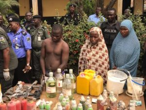 Bomb makers in Edo State Arrested (Photos)