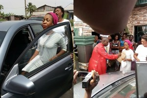 Nigerian husband retrieves car his wife sowed as seed to pastor (Photos)