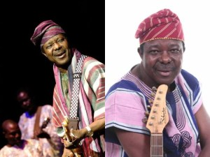 Check out King Sunny Ade and his 5 wives (Photo)