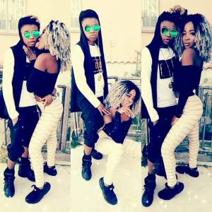 Nigerian lady proudly shows off her lesbian partner (Photos)