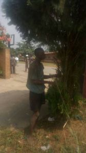 Thief Loses His Memory After Electric Shock While Stealing In Delta State (Photos)