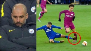 """""""Players need protection"""" – Pep Guardiola reacts to Sane's injury"""