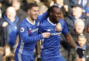 Hazard, Moses, Aguero makes our English Premier League Team of the weekend