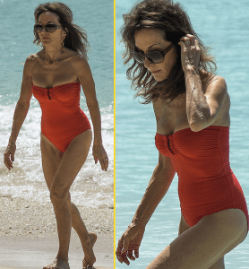 Check Out This 71-year-old Woman In A Red Bikini (Photos)