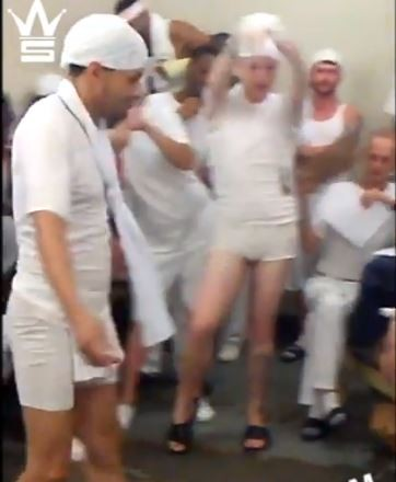 LEAK: See gay prisoners taking part in Prison Beauty Contest (Video)