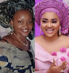 Check out this throwback photo of Nollywood Actrees, Mercy Aigbe (Photo)