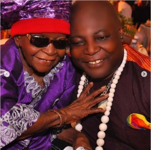 Charly Boy Shares Photo With His 100-Year-Old Mother (Photos)