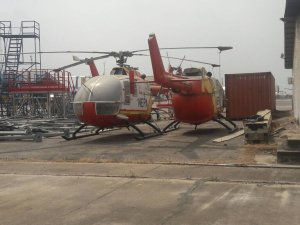 See Abandoned NEPA Helicopters Rotting Away