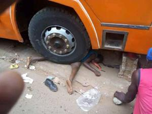 Bus Crushes A Woman In A Market In Kampala, Uganda (Graphic Photos)