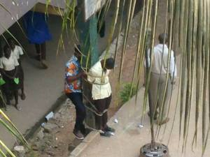 See As A Secondary School Student Is Tied With A Rope By A Teacher (Photos)