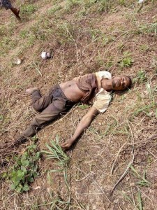 Gunmen Killed After Fierce Shootout With Soldiers In Rivers. (Graphic Photos)