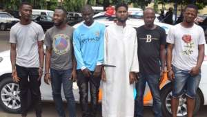Police nab 6 fraudsters who will us your SIM card to empty your account (Photo)