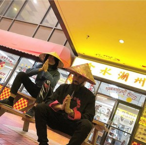 """Phyno Dresses As A """"Kung Fu"""" Fighter In China (Photo)"""