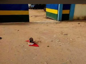 See The Charms, Fetish Items Dropped By Villagers At Ozubulu Police Station (Photos)