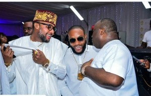 E-money, Ifeanyi Ubah, Flavour, Kcee At Allen Onyema's 25th Wedding Anniversary (Photos)
