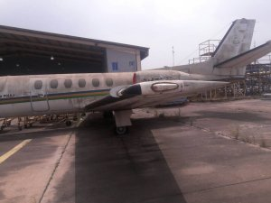 , See the jets owned by the Nigerian Police rotting away in Lagos (Photos), Effiezy - Top Nigerian News & Entertainment Website