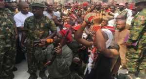 Over 200 Militants Repent, Surrender Arms In Imo (Photos)