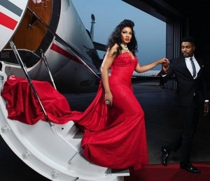 Omotola shares new photo from her 40th Birthday photoshoot (Photos)