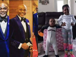 RMD Shares Adorable Picture Of His Grandchildren