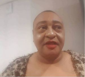 See Actor, Jide Kosoko dressed as a female with make-up (Photo)