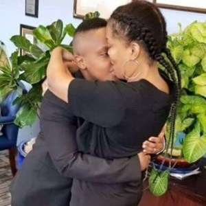 Kenyan Lesbian Ties The Knot With Her American Lover In A Low Key Ceremony (See Photos)