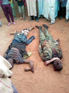 Villagers Kill Armed Robbers Who Stormed Their Village In Army Uniforms (Graphic Photos)