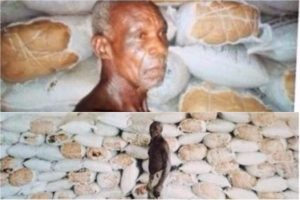 Man, 64, nabbed with 525 bags of weed inside house ceiling